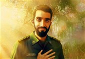 مراسم عزاداری امام حسین(ع) در آمریکا به همراه تصویر شهید حججی+فیلم