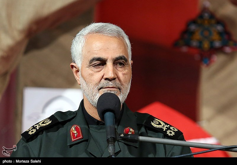 Iran's General Soleimani Sends Palestine Support Message