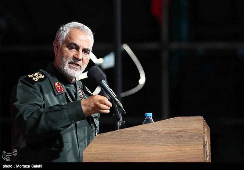 سردار سلیمانی در کرمان: ستمگران عالم بدانند که عاقبتی جز نابودی ندارند