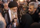 امام خامنهای: خدا شهید حججی را عزیز کرده/ چه غوغایی راه افتاده بهخاطر این جوان + فیلم