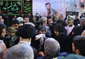 هدیه امام خامنهای به همسر شهید حججی + تصاویر