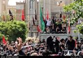 کاروان استقبال از پیکر شهید محسن حججی در شهر اصفهان