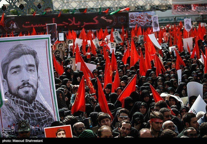 بررسی تاثیر رشادتهای شهید حججی در خارج از کشور
