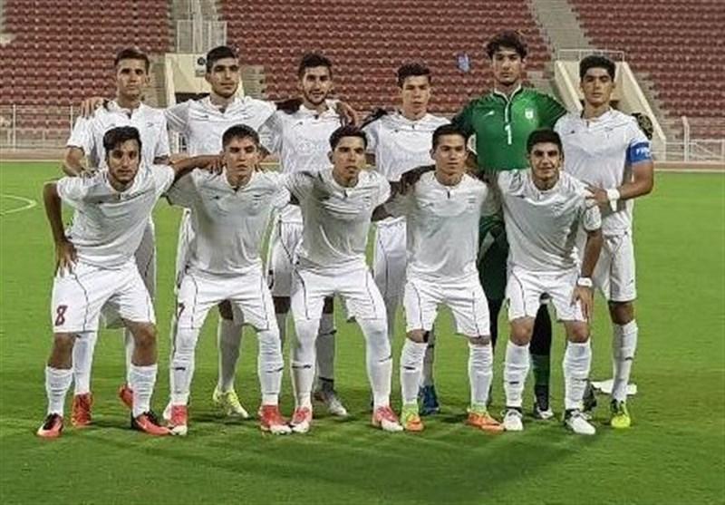 توقف تیم فوتبال جوانان ایران مقابل ارمنستان