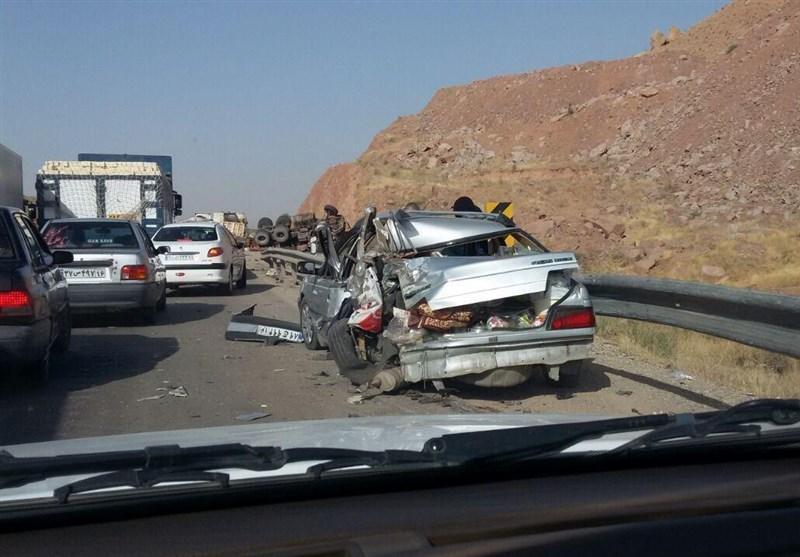 حادثه تصادف در شاهرود 2کشته و 4 مصدوم برجای گذاشت