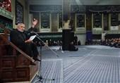 مداحی حاج منصور ارضی در حسینیه امام خمینی(ره)+صوت