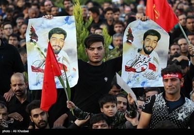 شہید محسن حججی کی تدفین میں عوام کا ٹھاٹھیں مارتا ہوا سمندر فرش راہ بنا