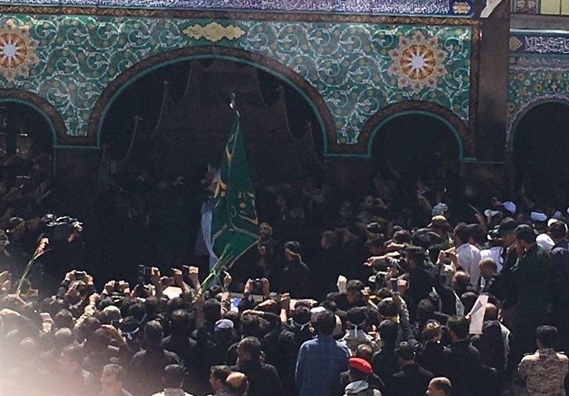Iconic Martyr Hojaji Laid to Rest in Central Iran