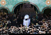 """پایان فراق بعد از 40 روز/غوغای ایرانیها در تشییع """"شهید بیسر""""/پیکر """"شهید حججی"""" در خاک آرام گرفت + فیلم و عکس"""
