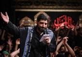مرثیهسرایی «مجید بنیفاطمه» در رثای علیاصغر(ع) + صوت و عکس