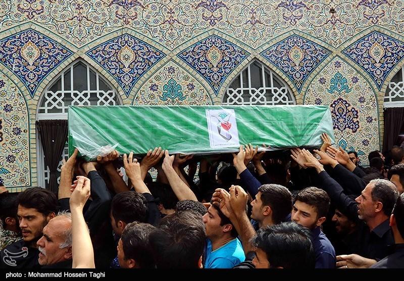 تشییع پیکر پاک شهیدان مدافع حرم محمدرضا یزدانی و محمدرضا سنجرانی