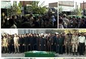 پیکر مطهر شهید مدافع حرم «صادق راشدی»در ورامین تشییع شد