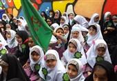 موکب کودکانه به سبک دختران دبستانی اهواز + تصاویر