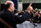 مداحی «حسین سازور» در حسینیه امام خمینی(ره) + فیلم و صوت