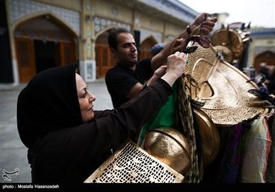 آیین سنتی طوق بندان در محلات قدیمی گرگان