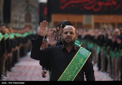 Shiite Muslims in Iraq's Najaf Observe Muharram Mourning Events