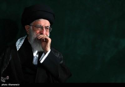 امام خامنہ ای کی مجلس عزاء میں شرکت