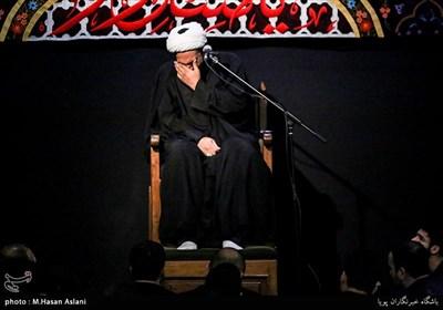 عزاداری شب هشتم ماه محرم در هیئت عبدالله ابن حسن(ع)