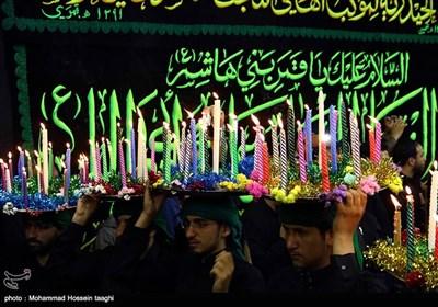 مراسم نمادین حضرت قاسم (ع) در مشهد