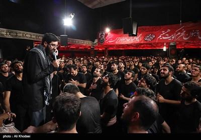 عزاداری شب هشتم محرم در هیئت فدائیان اصفهان