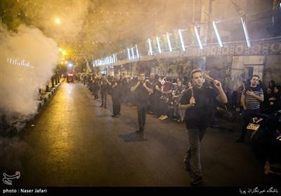 Muharram Mourning Ceremonies in Streets of Tehran