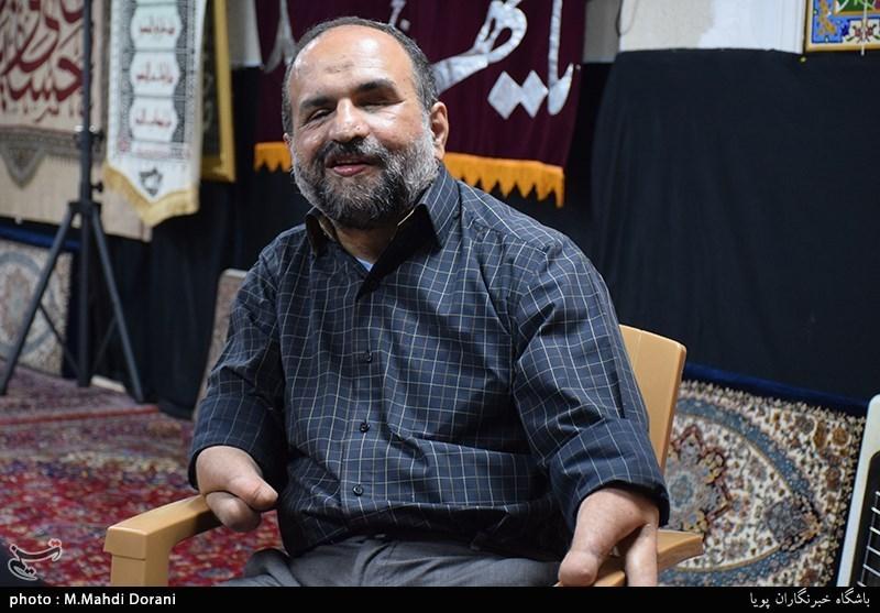 مجتبی شاکری دبیرکل جمعیت جانبازان انقلاب اسلامی