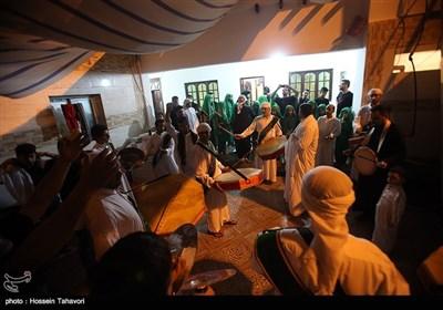 تعزیه عروسی حضرت قاسم (ع)هیئت کربلائیهای مقیم کیش