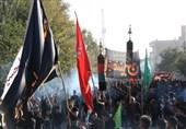 تجمع بزرگ عاشورائیان در دیار 15 خرداد به روایت تصویر