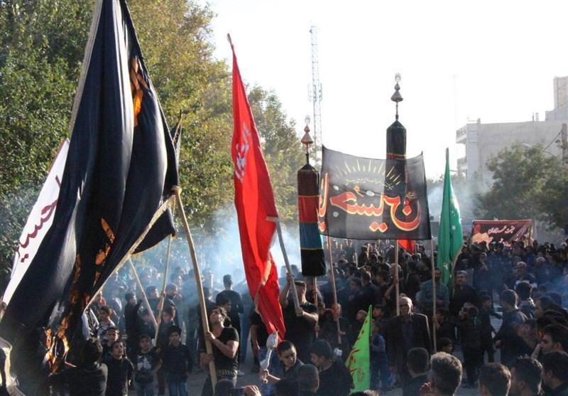 تجمع بزرگ عزاداران در بجنورد و شیروان برگزار شد