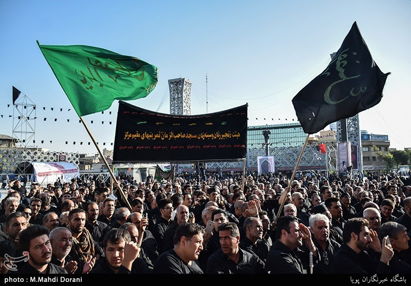 تجمع عزاداران اردبیلی مقیم تهران