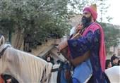 شبه کاروان ورود به کربلا نوش آباد
