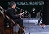 مداحی «محمدرضا طاهری» شب تاسوعا در حسینیۀ امام خمینی(ره) + صوت و فیلم
