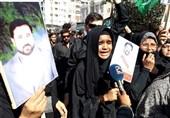 اعتراض خانواده افراد ربوده شده همزمان با سفر عمران خان به کراچی