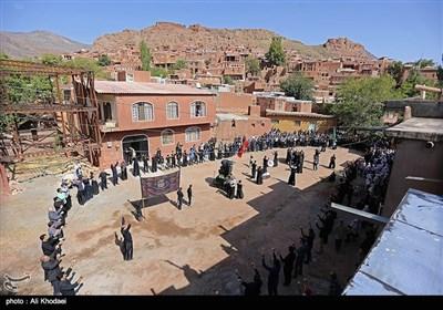 تاسوعای حسینی در روستای تاریخی ابیانه