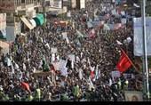 تظاهرات یمنیها در حمایت از مردم فلسطین