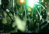 عزاداری شاه حسین گویان در شب عاشورا - تهران