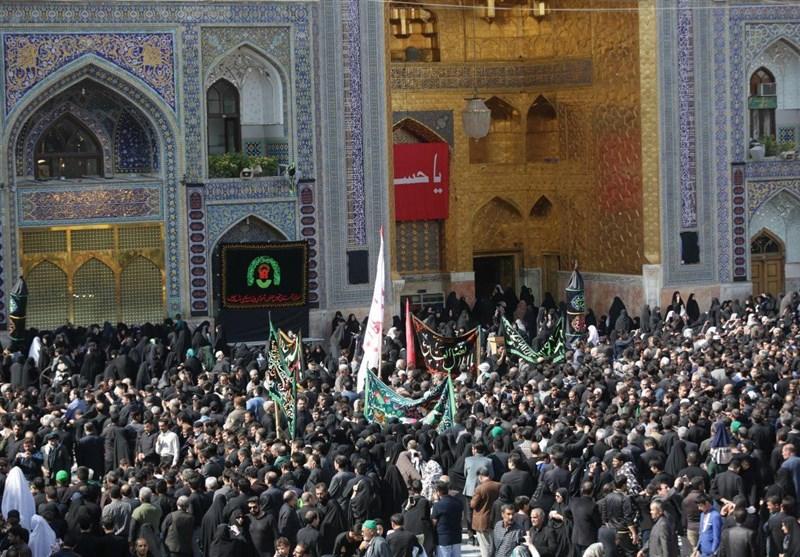 بالصور..ملایین المسلمین فی ایران والعالم یحیون ذکرى استشهاد الامام الحسین (ع)