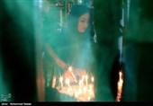 آیین چهل منبر در شب عاشورای حسینی - گرگان