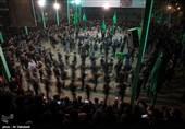 عزاداری شب عاشورا در روستای مزینان- سبزوار
