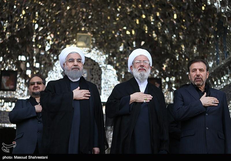 مراسم العزاء الحسینی فی مرقد عبد العظیم حسنی(ع) +صور