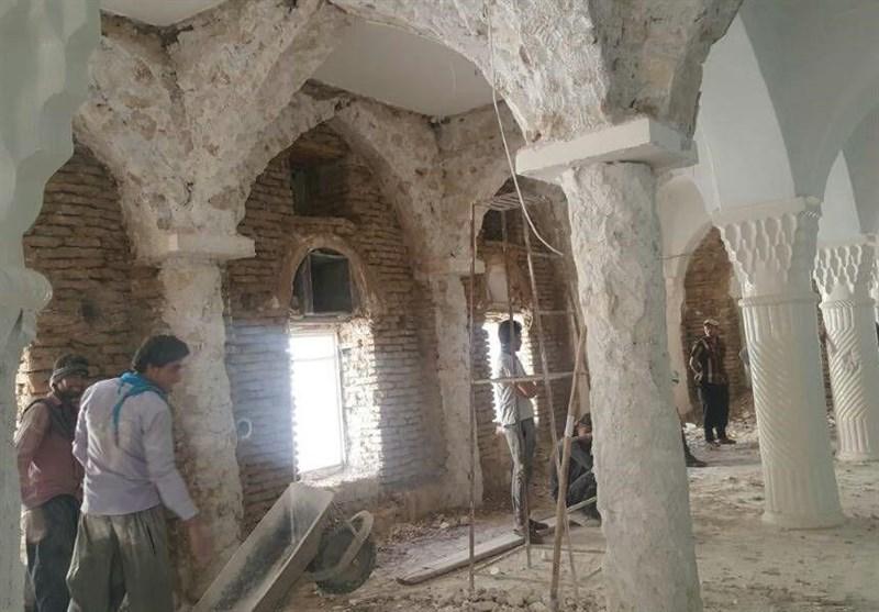 """تخریب مسجد تاریخی شهر """"خور"""" در بیخبری میراث فرهنگی"""