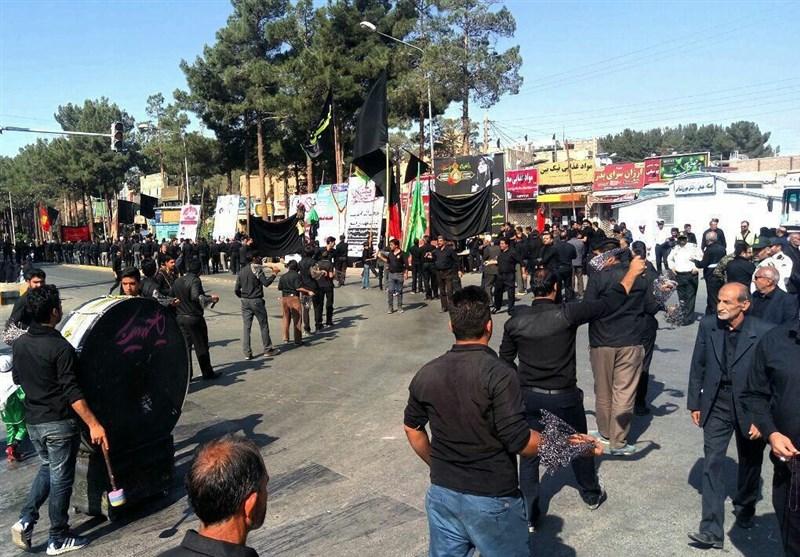 استان خراسان جنوبی تاسوعای حسینی غرق در عزا و ماتم است