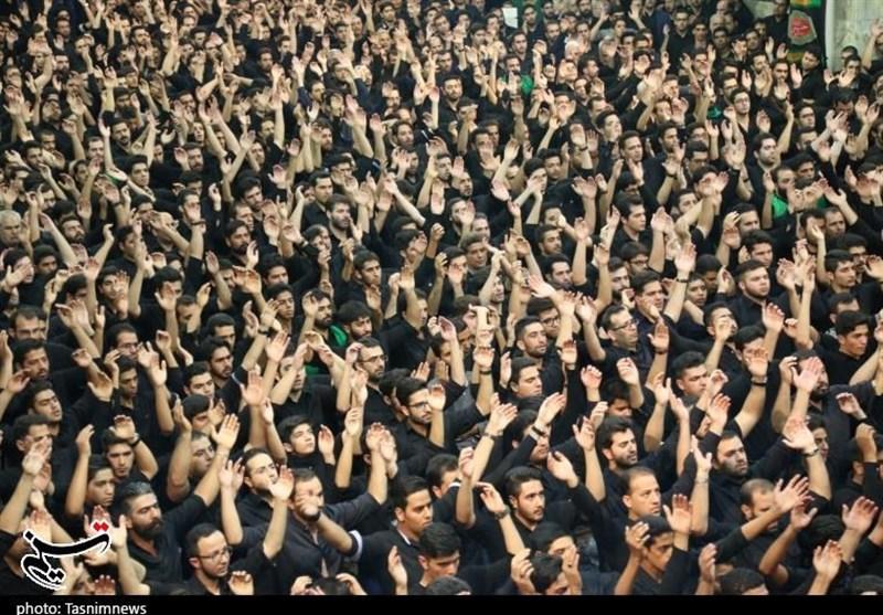 اجتماع بزرگ عزاداران یزد در عاشورای حسینی از نگاه دوربین