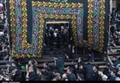 یزد| آئین عظیم نخلبرداری تفت به روایت تصویر