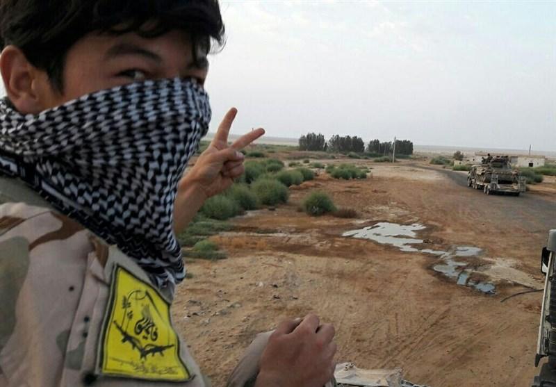 انهدام مقرهای داعش توسط پهپادهای شناسایی فاطمیون + عکس و فیلم