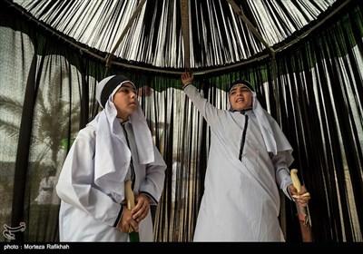 تعزیه خوانی واقعه عاشورا در روستای گنجه گیلان