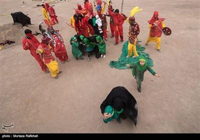Mourners Perform Ta'ziyeh North of Iran