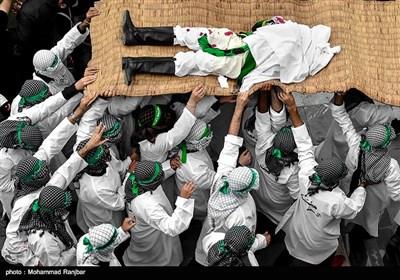 مراسم عزاداری روز عاشورا در آستانه اشرفیه - گیلان