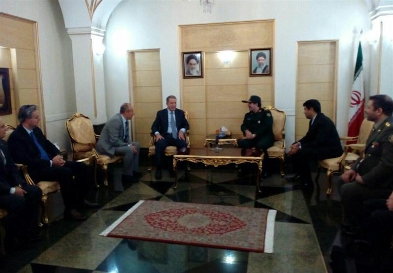 رئیس أرکان الجیش الترکی یصل طهران