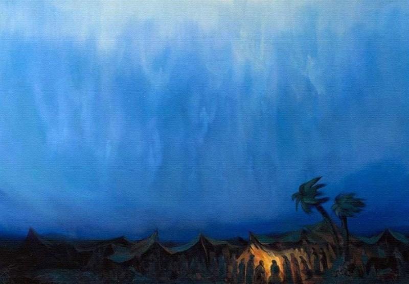فرود آمدن «امداد غیبی» در کربلا بر امام حسین(ع)